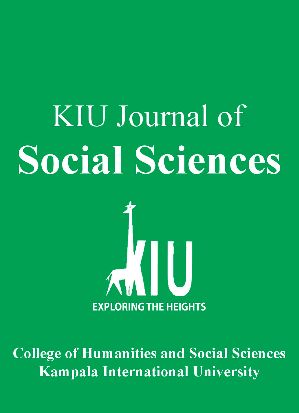 About the Journal | KIU Journal of Social Sciences